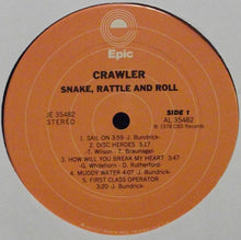 Crawler ‎– Snake, Rattle And Roll