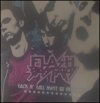 Flash Bastard ‎– Rock N' Roll Must Be Destroyed
