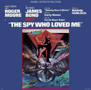Marvin Hamlisch ‎– The Spy Who Loved Me (Original Motion Picture Score)