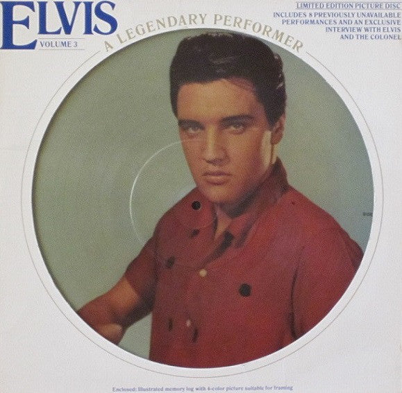 Elvis Presley ‎– A Legendary Performer - Volume 3 (FACTORY SEALED)