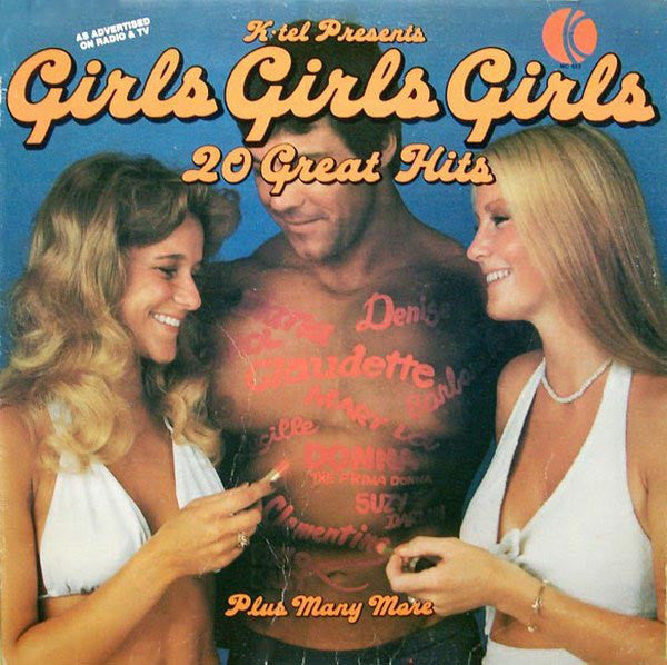 Various ‎– Girls, Girls, Girls