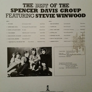 Spencer Davis Group ‎– The Best Of The Spencer Davis Group Featuring Steve Winwood