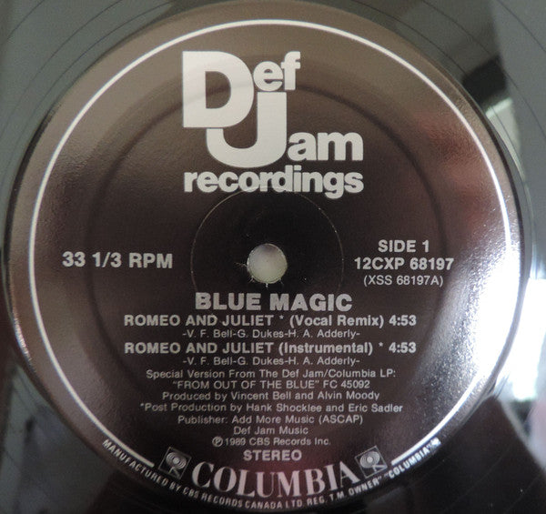 Blue Magic ‎– Romeo & Juliet