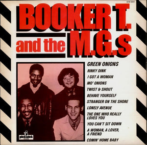 Booker T & The MG's ‎– Booker T & The MG's