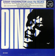 Dinah Washington ‎– Dinah Washington Sings The Blues