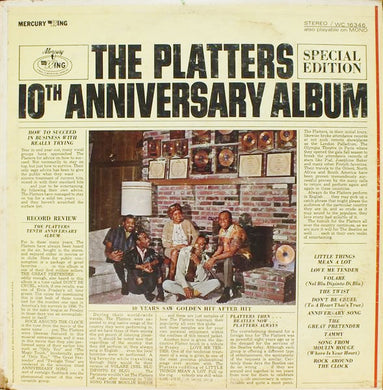 The Platters ‎– Platters 10th Anniversary Album