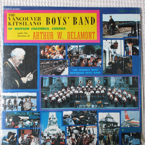 The Vancouver Kitsilano Boys' Band, Arthur W. Delamont ‎– In Concert