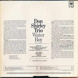Don Shirley Trio ‎– Water Boy