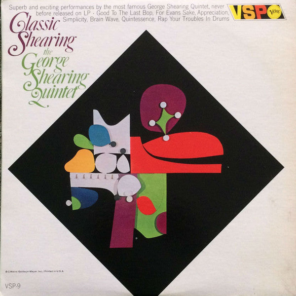The George Shearing Quintet ‎– Classic Shearing