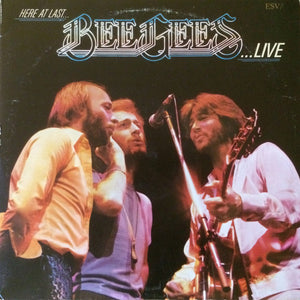 Bee Gees ‎– Here At Last - Live