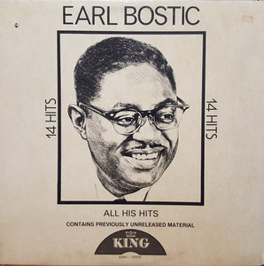 Earl Bostic ‎– 14 Hits