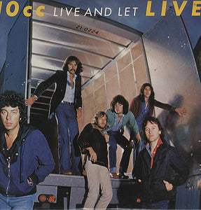 10cc ‎– Live And Let Live