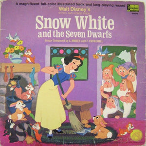 45d7d38493 Walt Disney s Story And Songs From Snow White And The Seven Dwarfs  (includes storybook)