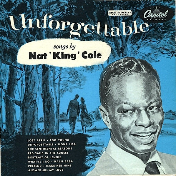 Nat King Cole ‎– Unforgettable
