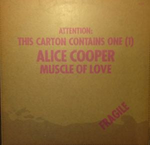 Alice Cooper ‎– Muscle Of Love