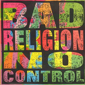Bad Religion ‎– No Control (NEW Vinyl) Record Buyers Club