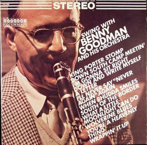 Benny Goodman And His Orchestra ‎– Swing With Benny Goodman And His Orchestra