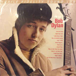 Bob Dylan ‎– Bob Dylan (NEW VINYL) Mobile Fidelity Soundlab version