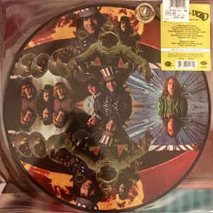 The Grateful Dead ‎– The Grateful Dead - Picture Disc - 50th anniversary  (NEW PRESSING)