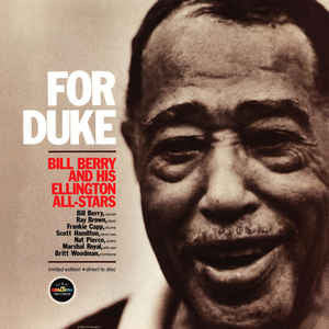 Bill Berry And His Ellington Allstars ‎– For Duke (Limted Edition - Direct to Disc)