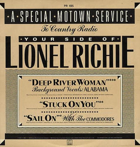 Lionel Richie - A Special Motown Service to Country Radio - Your Side of Lionel Richie