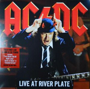 ACDC - Live at River Plate - 3 disc set - red vinyl