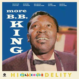 B.B. King ‎– More B.B. King (NEW VINYL)