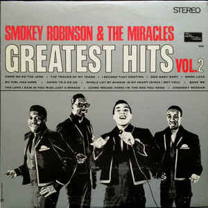 Smokey Robinson & The Miracles ‎– Greatest Hits Vol. 2