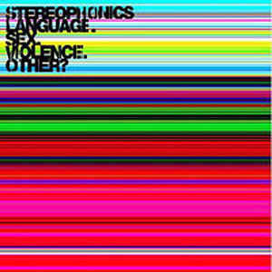 Stereophonics ‎– Language.Sex.Violence.Other?  (NEW VINYL)