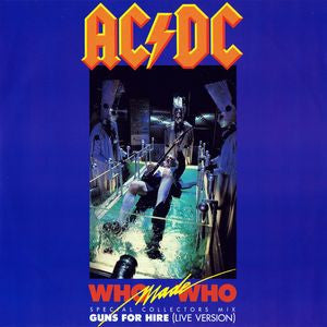 "ACDC - Who Made Who - Special Collectors Mix 12"" 45"