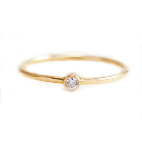 Diamond Bezel Ring .05 CT