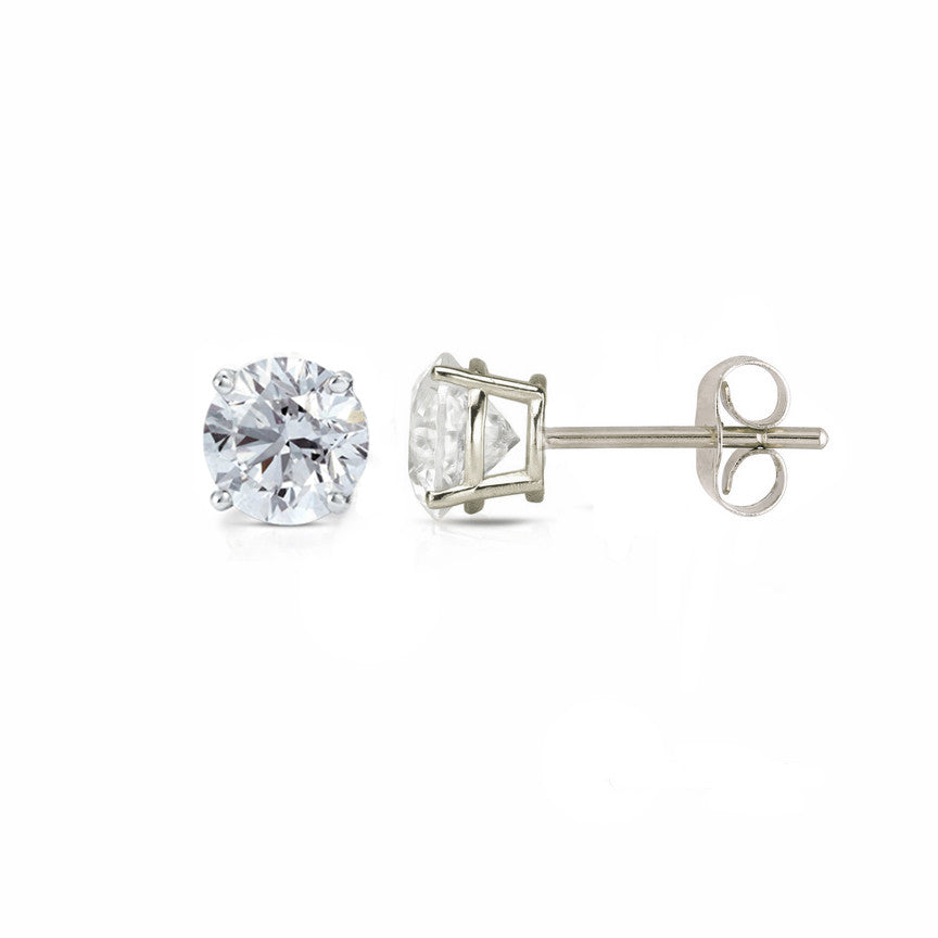 Diamond Stud Earrings .40 CT