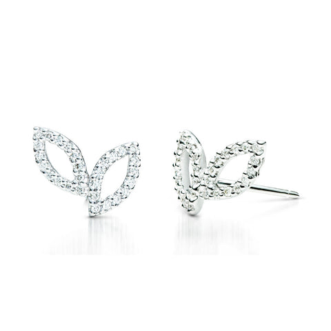 Amorous Diamond Earrings 14k