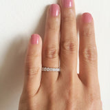 Skinny'ish Eternity Band 2.00 CT