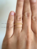Chain Ring 1.8mm 14K