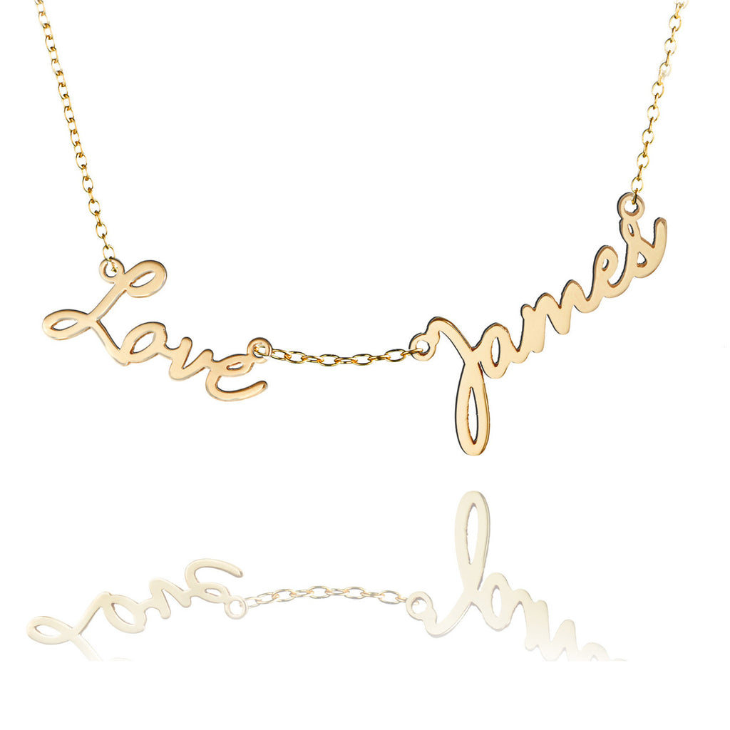 Duet Family Love Necklace