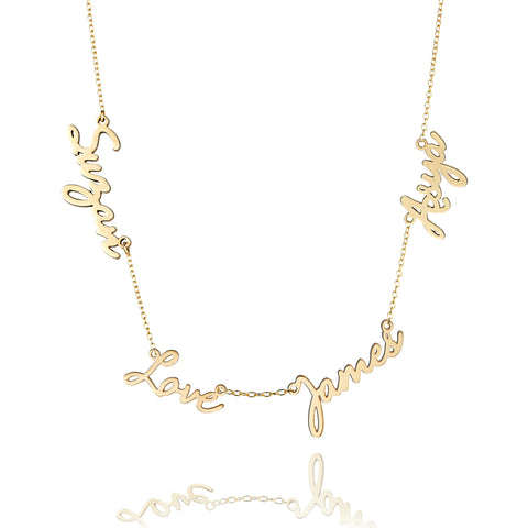 Quartette Family Love Necklace