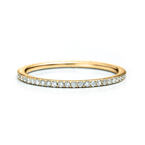Slim Micropavé Eternity Band .25 CT
