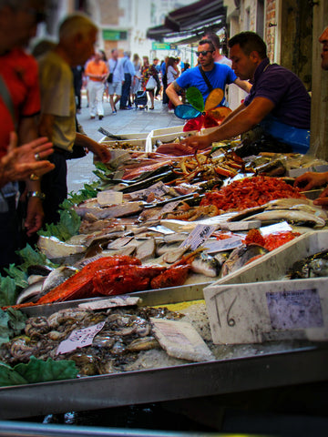 Fish Market in Venice