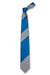 Striped Tie in Blue & Gray