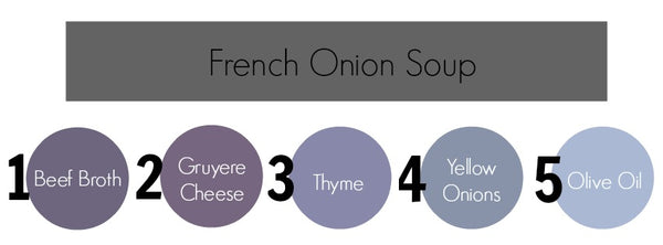 french onion, soup,