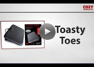 Toasty Toes™ Fleece Foot Cover - Cozy Products  - 7