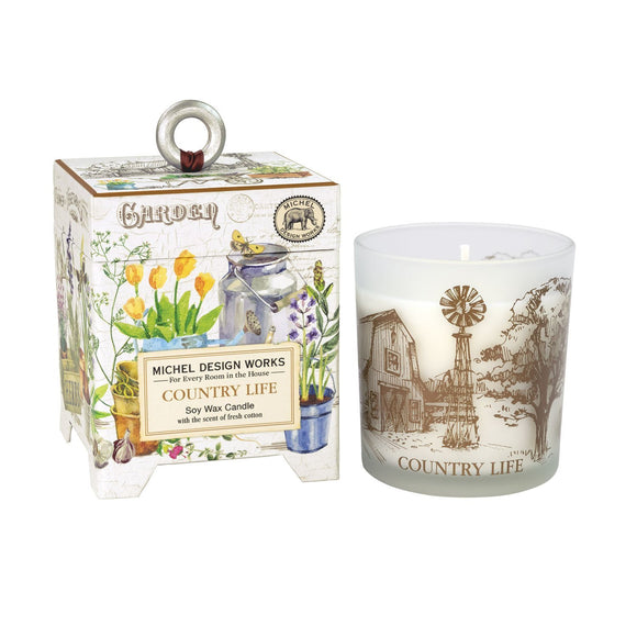 Michel Design Works Soy Wax Candle, Country Life