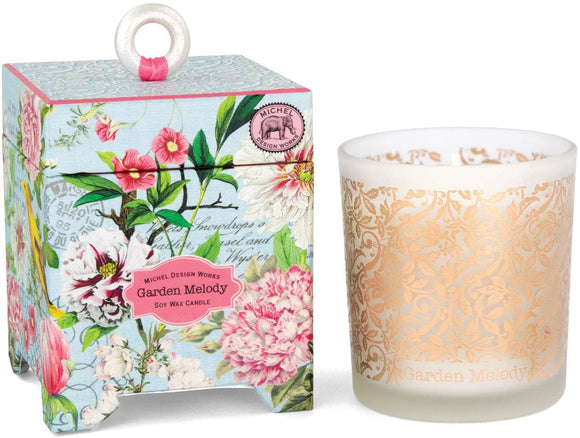 Michel Design Works Soy Wax Candle, Garden Melody