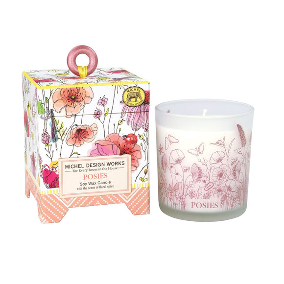 Michel Design Works Soy Wax Candle, Posies