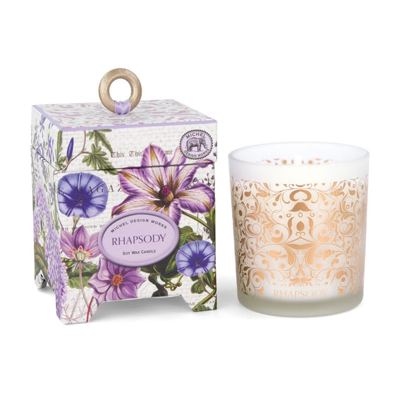 Michel Design Works Soy Wax Candle, Rhapsody