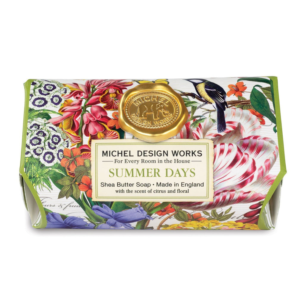 Michel Design Large Bath Soap, Summer Days