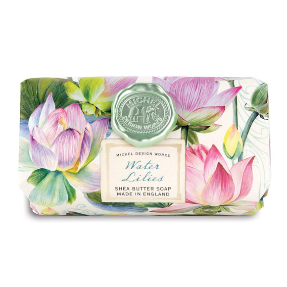 Michel Design Large Bath Soap, Water Lilies