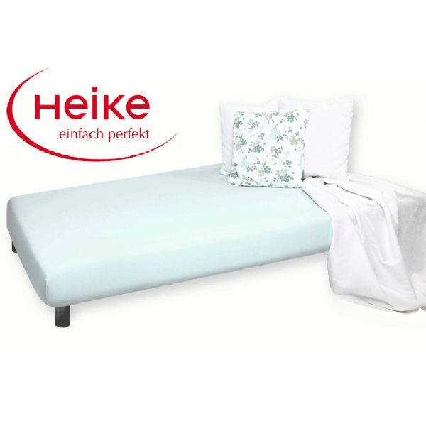 Heike Mako-Jersey Mattress Cover, Blue