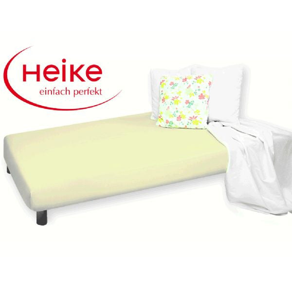 Heike Mako-Jersey Mattress Cover, Green